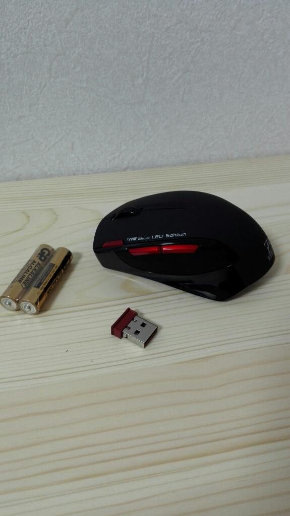 ブルーLEDマウス MA-WBL26BKRを買ったのでレビュー&感想
