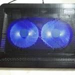 ノートPC冷却ファンレビュー 冷却パッドで動画をガンガンネットをガンガン使えるか