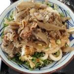 丸亀製麺 鬼おろし肉ぶっかけを食べる ガッツリ系のようでサッパリと食べられる