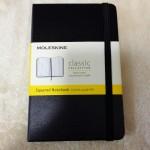 モレスキンのメモ帳はシンプルで仕事にもプライベートにも色々使える